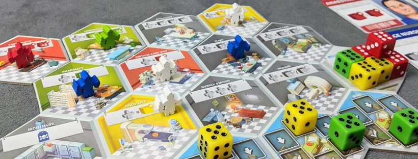 Afbeeldingsresultaat voor dice hospital board game